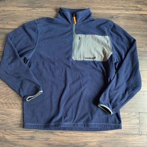 Timberland men's half zip fleece